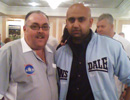 Rohit Rabadia with Tony O'Shea